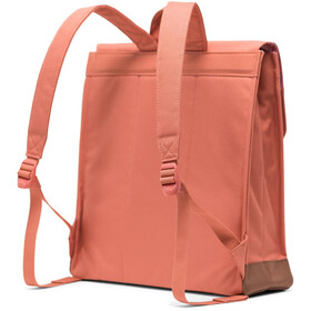 Herschel City Mid-Volume Backpack apricot brandy/saddle brown